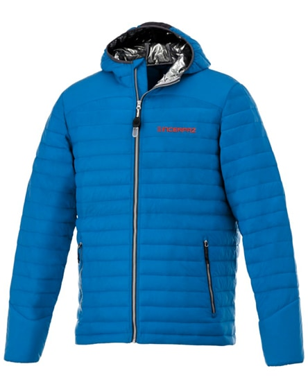 branded silverton men's insulated packable jacket