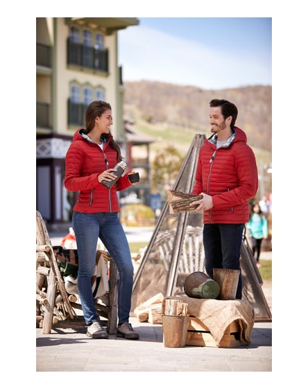 branded silverton women's insulated packable jacket