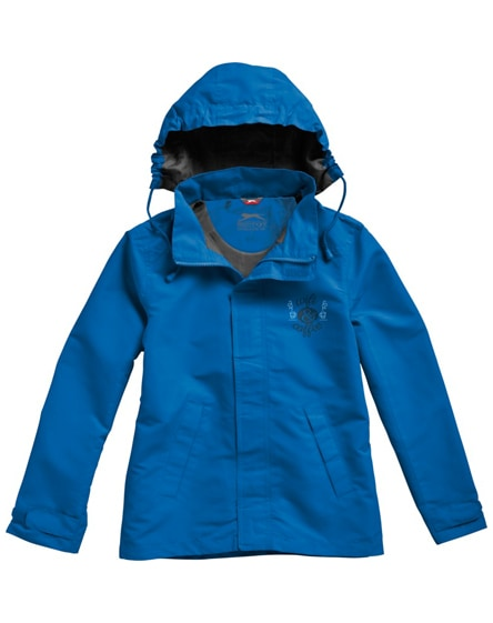 branded top spin jacket