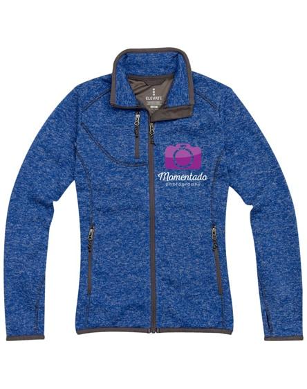 branded tremblant ladies knit jacket