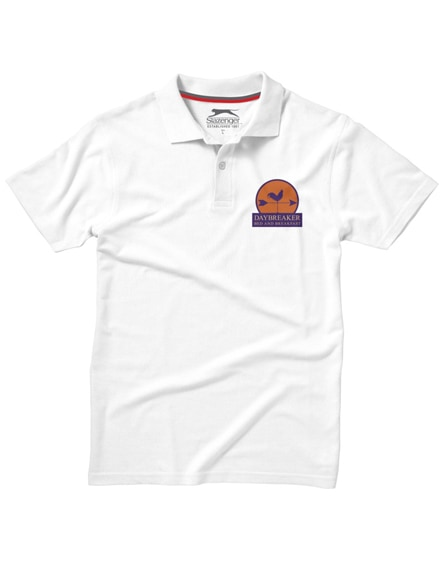 branded advantage short sleeve men's polo