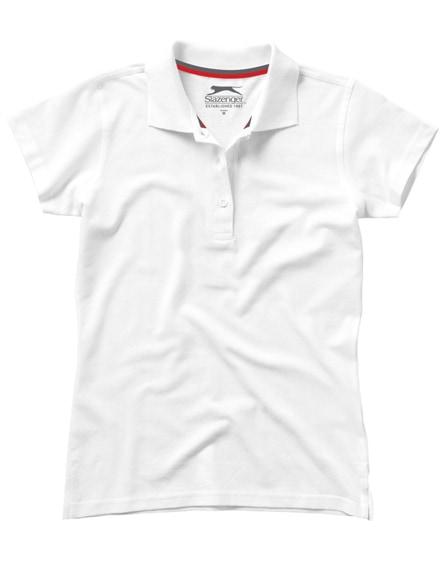 branded advantage short sleeve women's polo