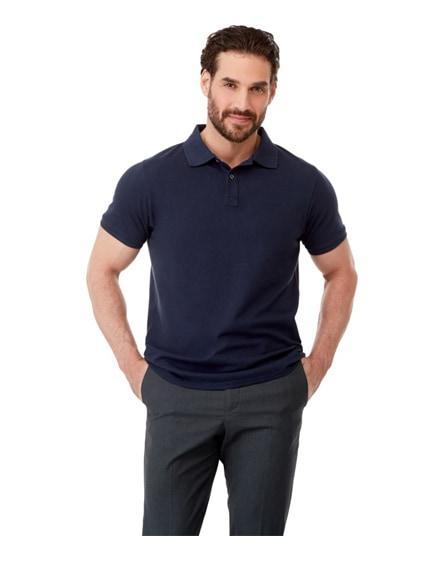 branded beryl short sleeve men's gots organic grs recycled polo