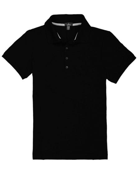 branded crandall short sleeve women's polo