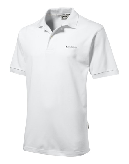 branded forehand short sleeve men's polo