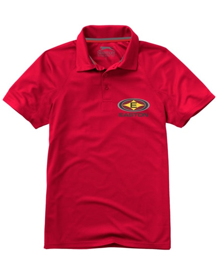 branded game short sleeve men's cool fit polo
