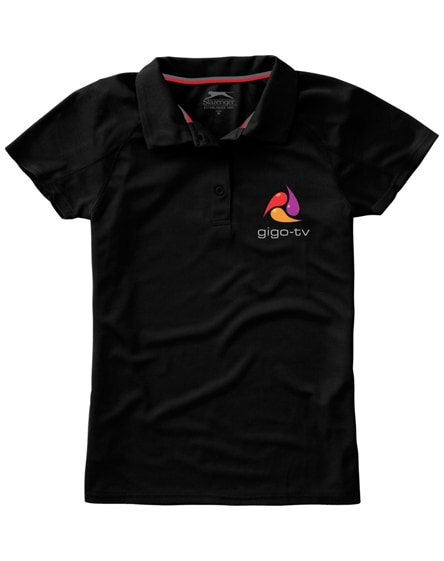 branded game short sleeve women's cool fit polo