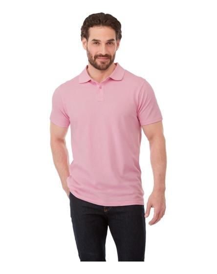 branded helios short sleeve men's polo