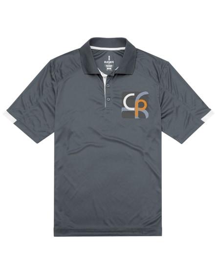 branded kiso short sleeve men's cool fit polo