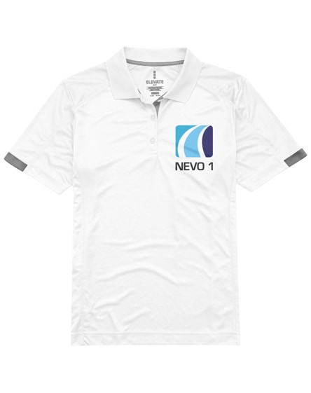 branded kiso short sleeve women's cool fit polo