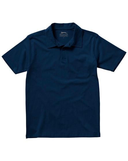 branded let short sleeve men's jersey polo