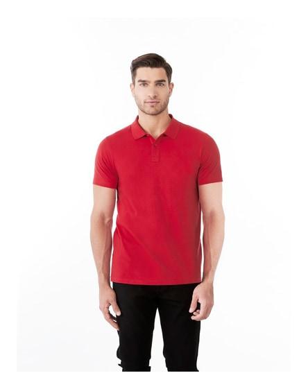 branded liberty short sleeve men's polo