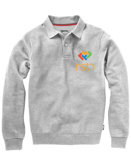 branded referee polo sweater