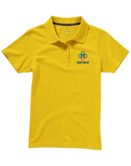 branded seller short sleeve women's polo