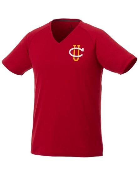 branded amery short sleeve men's cool fit v-neck shirt
