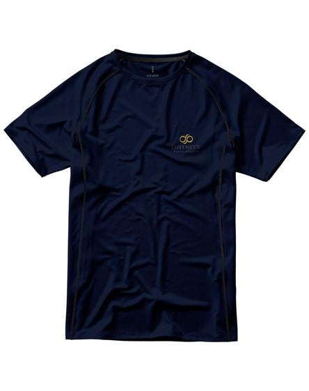 branded kingston short sleeve men's cool fit t-shirt