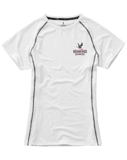 branded kingston short sleeve women's cool fit t-shirt