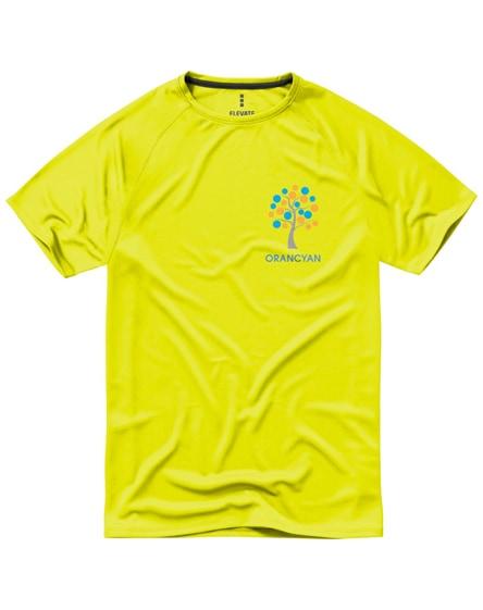 branded niagara short sleeve men's cool fit t-shirt