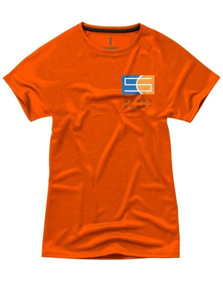 branded niagara short sleeve women's cool fit t-shirt