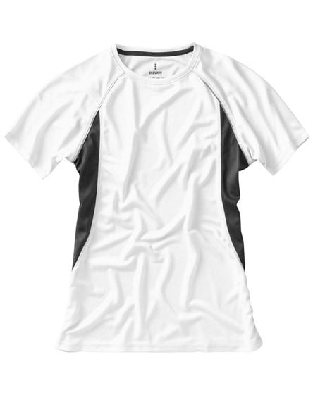 branded quebec short sleeve women's cool fit t-shirt