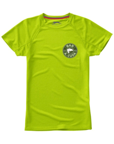branded serve short sleeve women's cool fit t-shirt