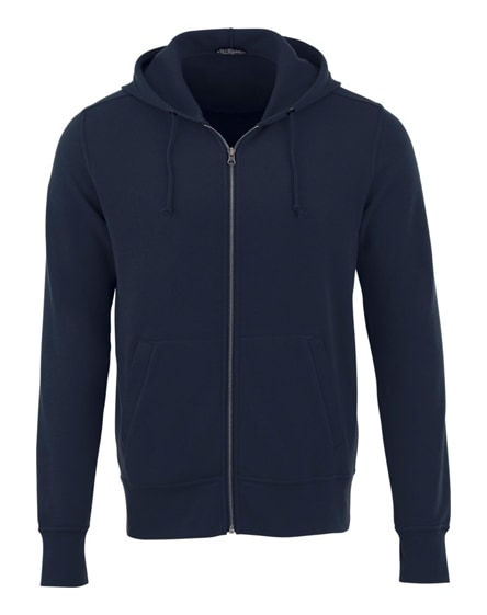 branded cypress unisex full zip hoodie
