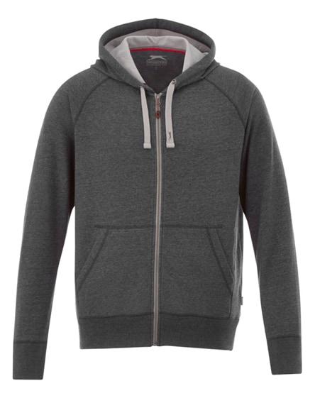 branded groundie full zip hoodie