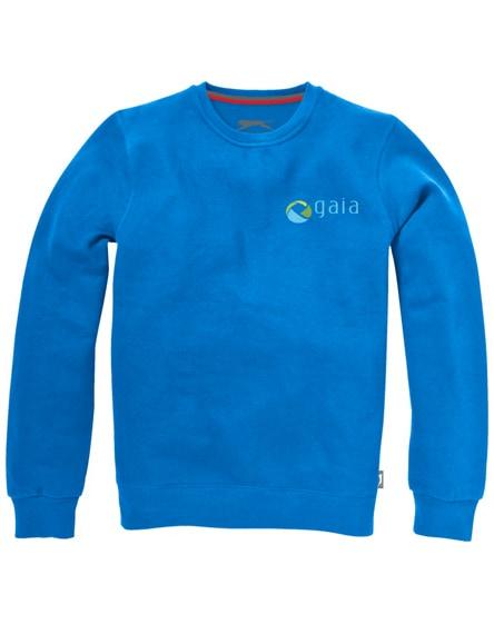 branded toss crew neck sweater
