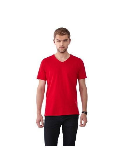 branded bosey short sleeve men's v-neck t-shirt