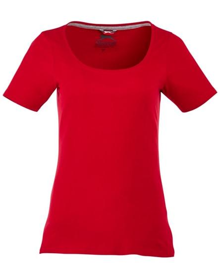 branded bosey short sleeve women's scoop neck t-shirt