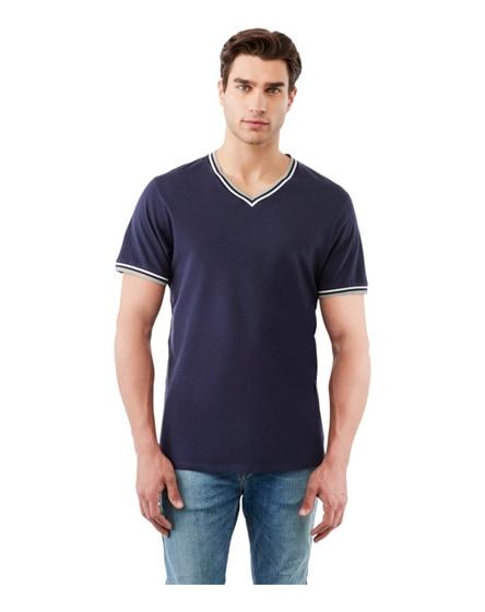 branded elbert short sleeve men's pique t-shirt