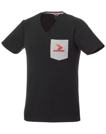 branded gully short sleeve men's pocket t-shirt