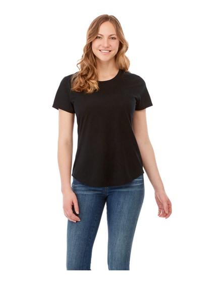 branded jade short sleeve women's recycled t-shirt