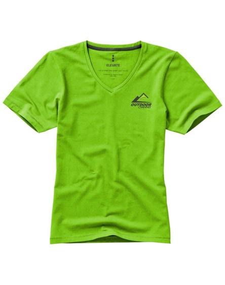 branded kawartha short sleeve women's organic t-shirt