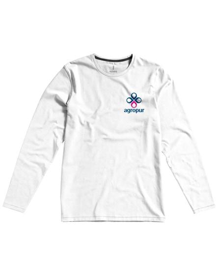 branded ponoka long sleeve men's organic t-shirt