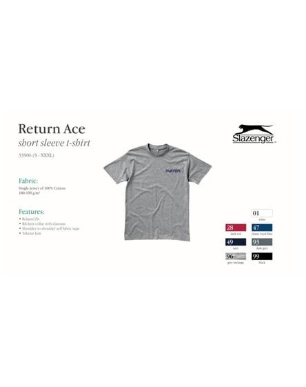 branded return ace short sleeve unisex t-shirt