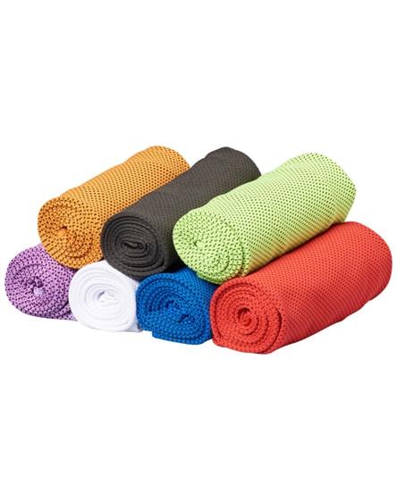 branded alpha fitness towel