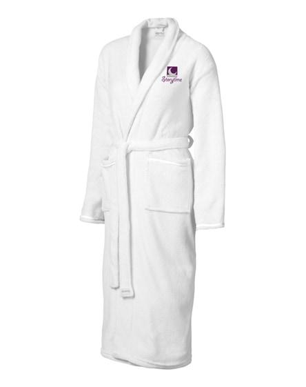 branded bloomington ladies bathrobe