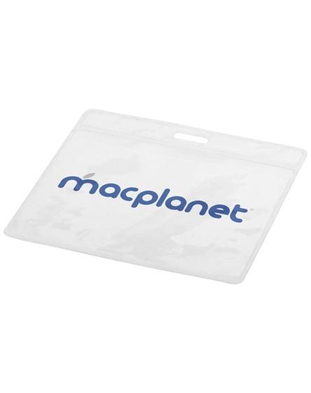 branded serge transparent badge holder
