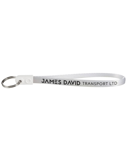 branded ad-loop jumbo keychain