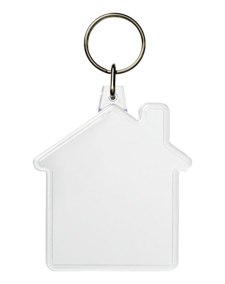 branded combo house-shaped keychain