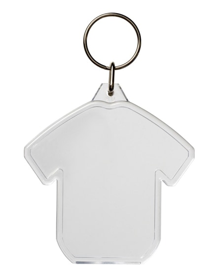 branded combo t-shirt-shaped keychain