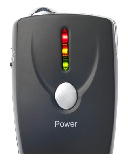 branded inebreeze alcohol breath analyser keychain