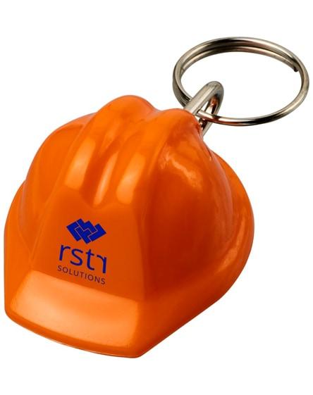 branded kolt hard-hat-shaped keychain