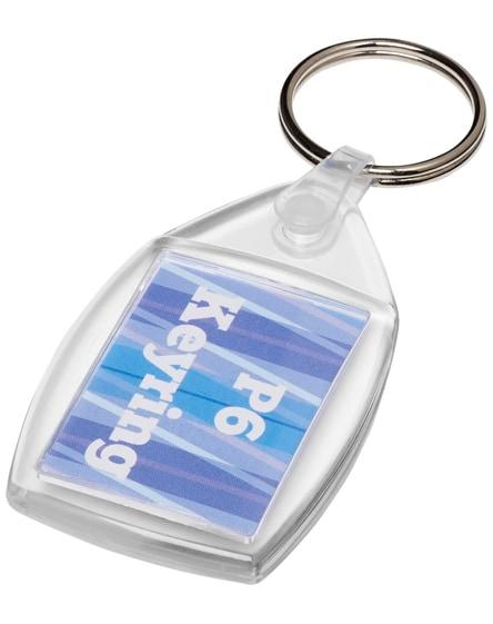 branded lita p6 keychain with plastic clip