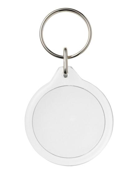 branded orb i7 round key chain