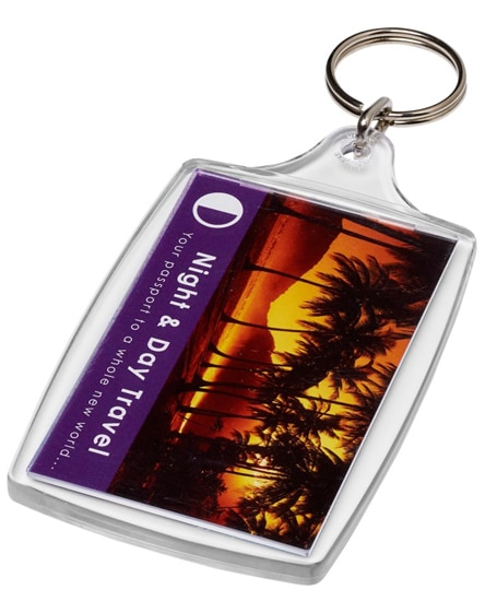 branded orca l4 large keychain