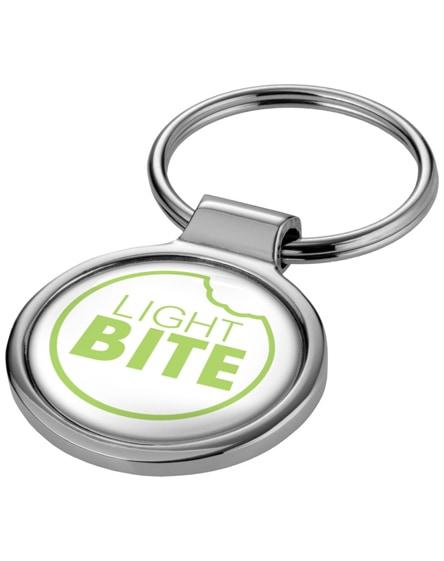 branded orlene round keychain