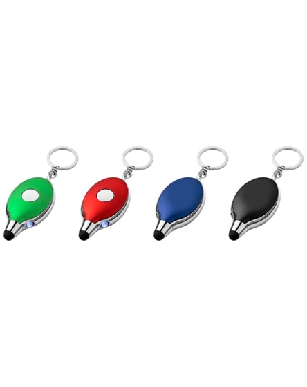 branded presto keychain light and stylus