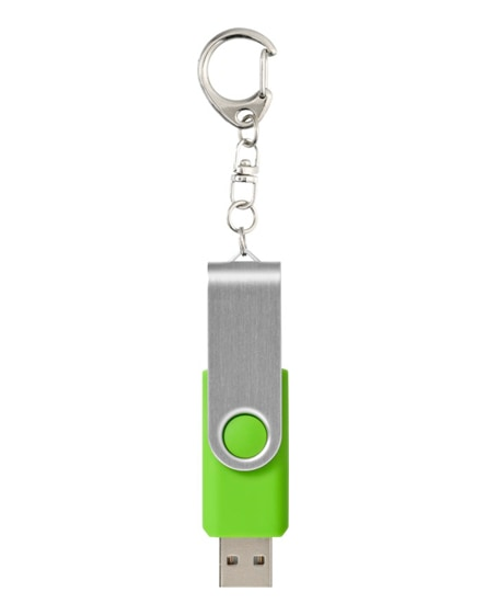 branded rotate with keychain